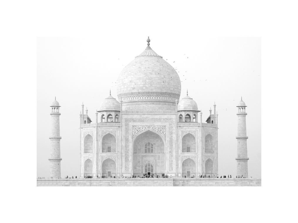 India, Agra, Taj Mahal.    ©  R.V. Bulck